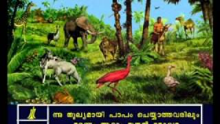 Romans - Romans 5 Malayalam Picture Bible