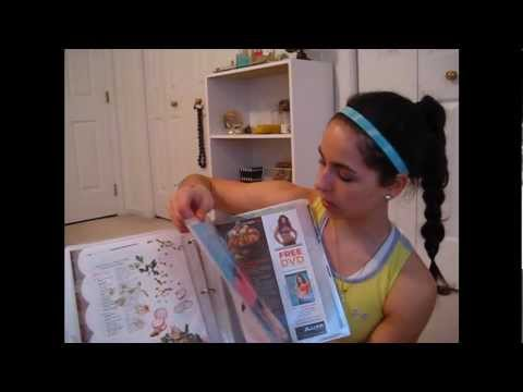 What to do with fitness magazine clippings! my fitness binders!!!!