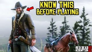 7 Things You Need to Know Before Playing Red Dead Redemption 2