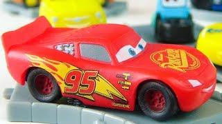 Disney Cars toys for kids / Lightning McQueen, Storm, Cruz etc. / Funny baby Vlad unboxing surprise