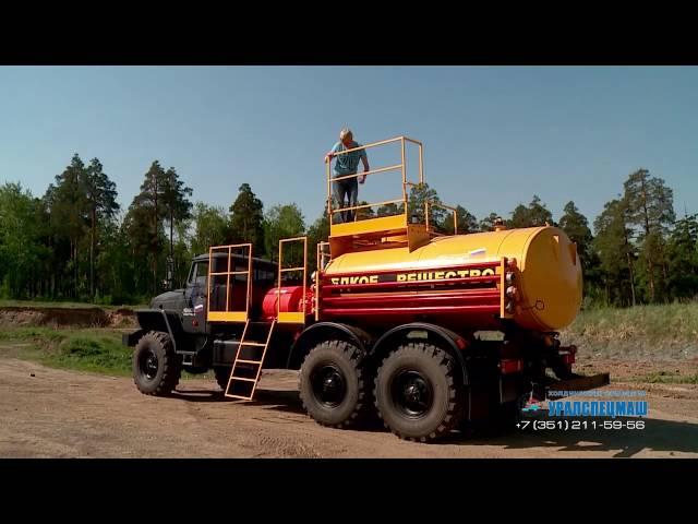Седельный тягач Камаз 43118 с КМУ АНТ 27-1 (г/п 9 тн) и бортовым полуприцепом (г/п 20 тн)