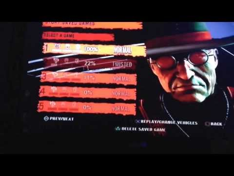 Twisted metal unlimited weapon cheat ps3