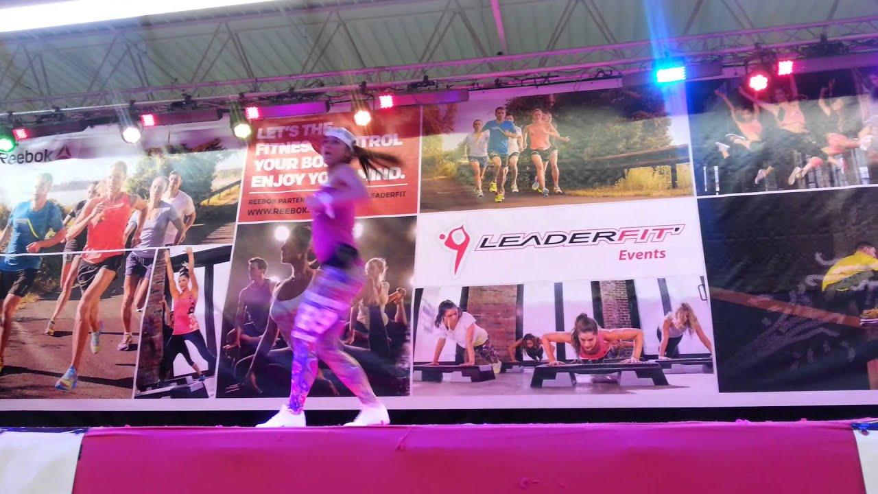 Marina kutsova aero salon mondial du fitness paris 2014 for Salon mondial du fitness