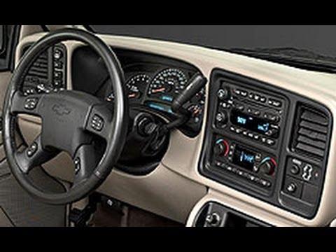 Desmontar Tablero Chevrolet Silverado 99.00.01.02.03.04.05.06 Carsound Cuautla