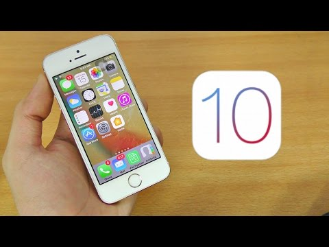iPhone 5S iOS 10 Full Review! (BETA 1)