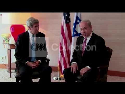 ISRAEL:JOHN KERRY MEETS NETANYAHU