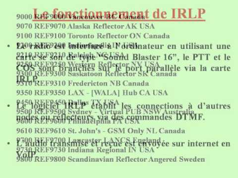 IRLP  Internet Radio Linking Project , Club Radio Amateur de Quebec VE2CQ