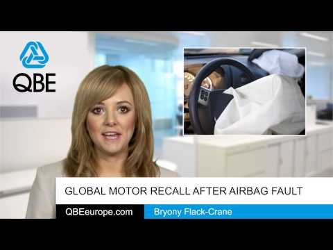 Global motor recall after airbag fault