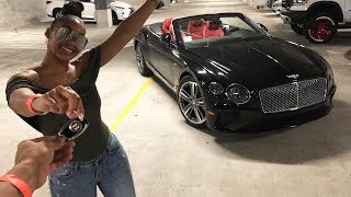 SURPRISING HER WITH A BRAND NEW BENTLEY! *PRICELESS REACTION*