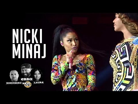 Nicki Minaj shares her experience Performing with Beyonce in Paris!