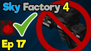Mystical Agriculture (ft. Dead Withers) | Minecraft Modpack: Sky Factory 4 | Ep. 17