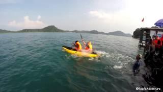 "PT. Multi Transfer Group "" Team Building "" tour ke Pulau Petong"
