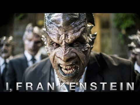 I Frankenstein Trailer Kritik Review Deutsch German Aaron Eckhart 2014 ...