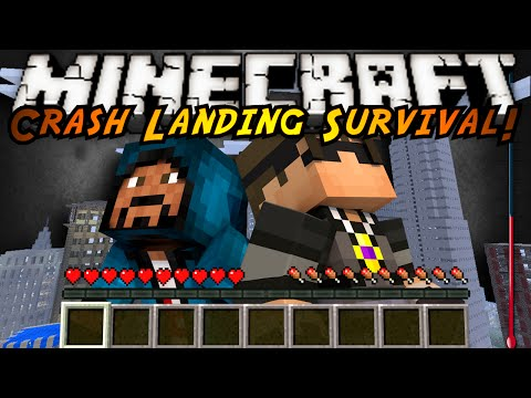 Minecraft Modded Crash Landing : AUTOMATED MACHINES?!