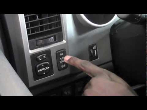 2012 Toyota Tundra Interior Lights How To By Toyota City