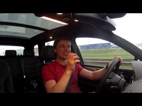 Тест VW Touareg Hybrid
