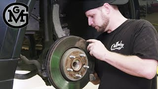 How To Change Your Brake Pads with Jeremy Cheatham - Gas Monkey Garage