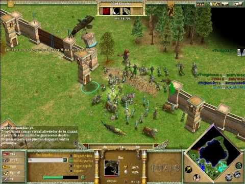 Age of Mythology The Titans x Hamachi: Hades & Odin VS Isis & Hades - Parte 2/4