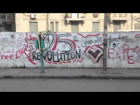 Cairo Post-Revolution Graffiti