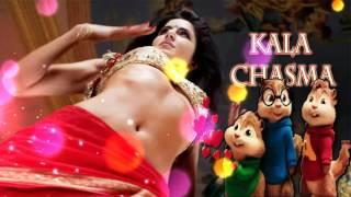 Kala Chasma Baar Baar Dekho Katrina Kaif And Siddharth Malhotra's Hindi Song by CHIPMUNKS