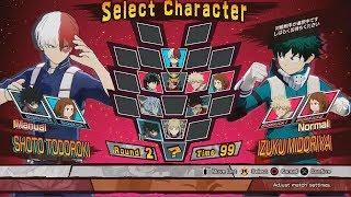 My Hero Academia One's Justice Gameplay - Midoriya vs Todoroki Full Fight (E3 2018)