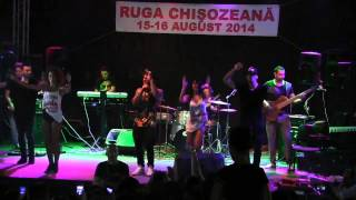 Alex Velea - Minim doi @ Ruga Chisozeana ( 15.08.2014 ) - Live Band