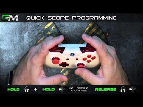 GamerModz Xbox ONE Juggernaut Ver. 3.0 - Call of Duty Modded Controller Tutorial
