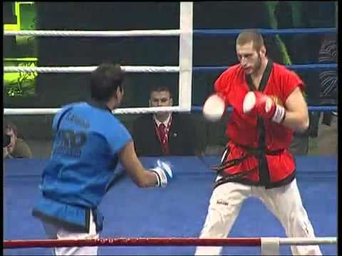 Taekwondo profesional fight Masculino
