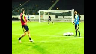 İbrahimovic Tough Shot Sweden | OMG |