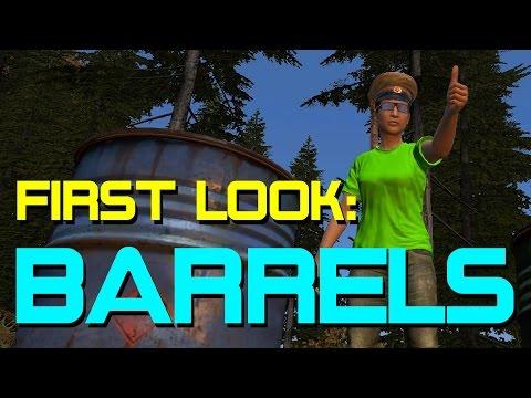 First Look: Multi-use Barrels in DayZ Standalone