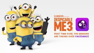 Minion Time: FaceDance Challenge partnered with NBCUniversal
