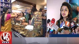 Actress Navya Swamy Inaugurated Trendz Expo Exhibition In Taj Krishna | Banjarahills