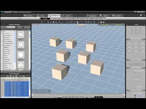 iClone5 Tutorial – Object Movement and Manipulation