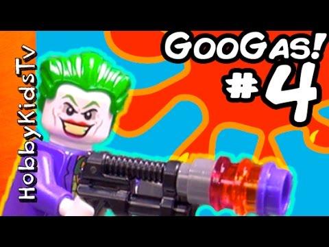 Goo Gas Jokers MiniMe! Part 4 + Batman Superhero Fun by HobbyKidsTV