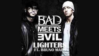 Watch Bad Meets Evil Lighters Feat. Bruno Mars video