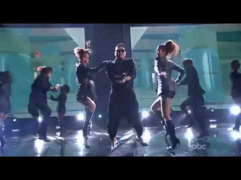 Psy - Gangnam Style (live 2012 American Music Awards) Ama video