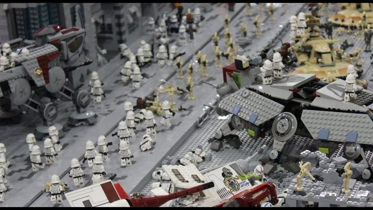 Lego clone wars base battle of coruscant youtube - Lego star wars base droide ...