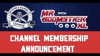 Channel Membership Announcement Video.