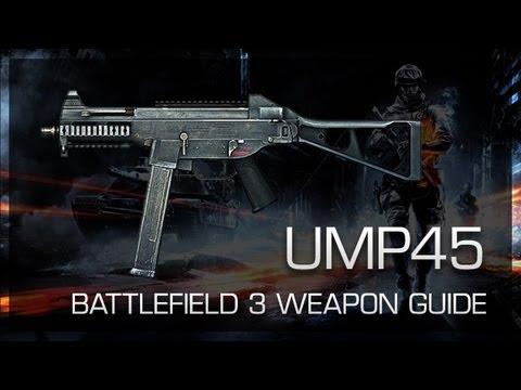 UMP45 : Battlefield 3 Weapon Guide, Gameplay & Gun Review