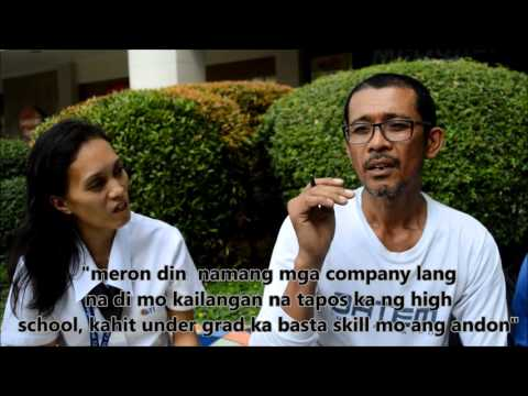unemployment in the Philippines practice docu