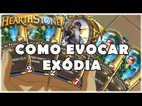 HEARTHSTONE - COMO EVOCAR EXÓDIA! (LIVRE EXODIA MAGE)