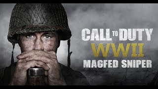 CALL to DUTY: WWII MAGFED PAINTBALL SNIPER!