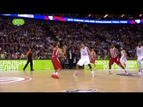 Vassilis Spanoulis on fire in the Euroleague final! (22 pts ● all in the 2nd half!)