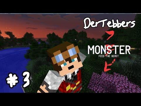 Minecraft FTB Monster - 003 - GENERATOR!!!