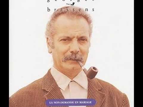 Georges Brassens - La Non-demande En Mariage