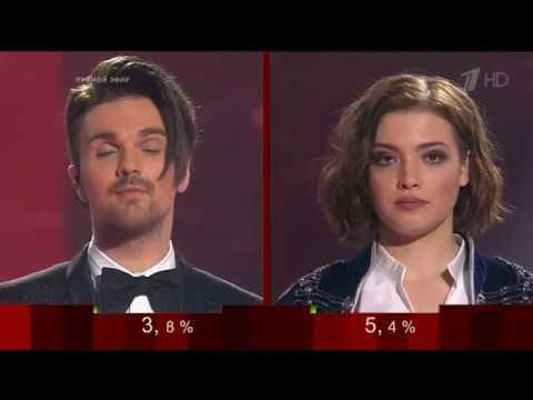 Объявление победителя Голос 5-й сезон. Результаты голосования 30.12.16  Финал