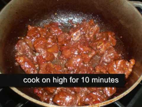 how to prepare stew sauce
