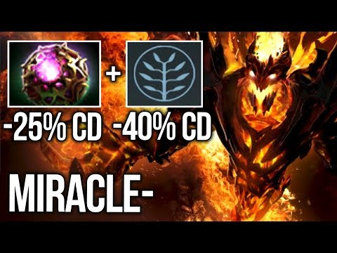 Miracle- How to Raze like a SF Boss! Octarine Ethereal Blade + New Talent - Dota 2
