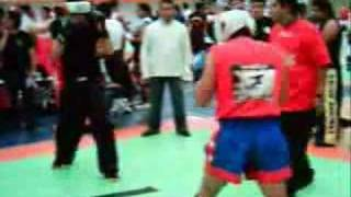 Kick Boxing En Sala De Armas De Ciudad Deportiva