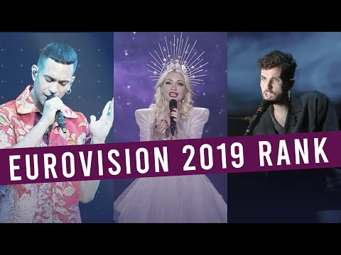 Eurovision 2019: My Top 41 (With Comments)